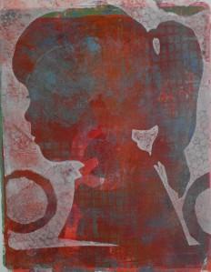 Selfie Gelli print.